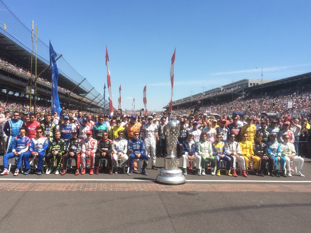 Indy 500 driver intro