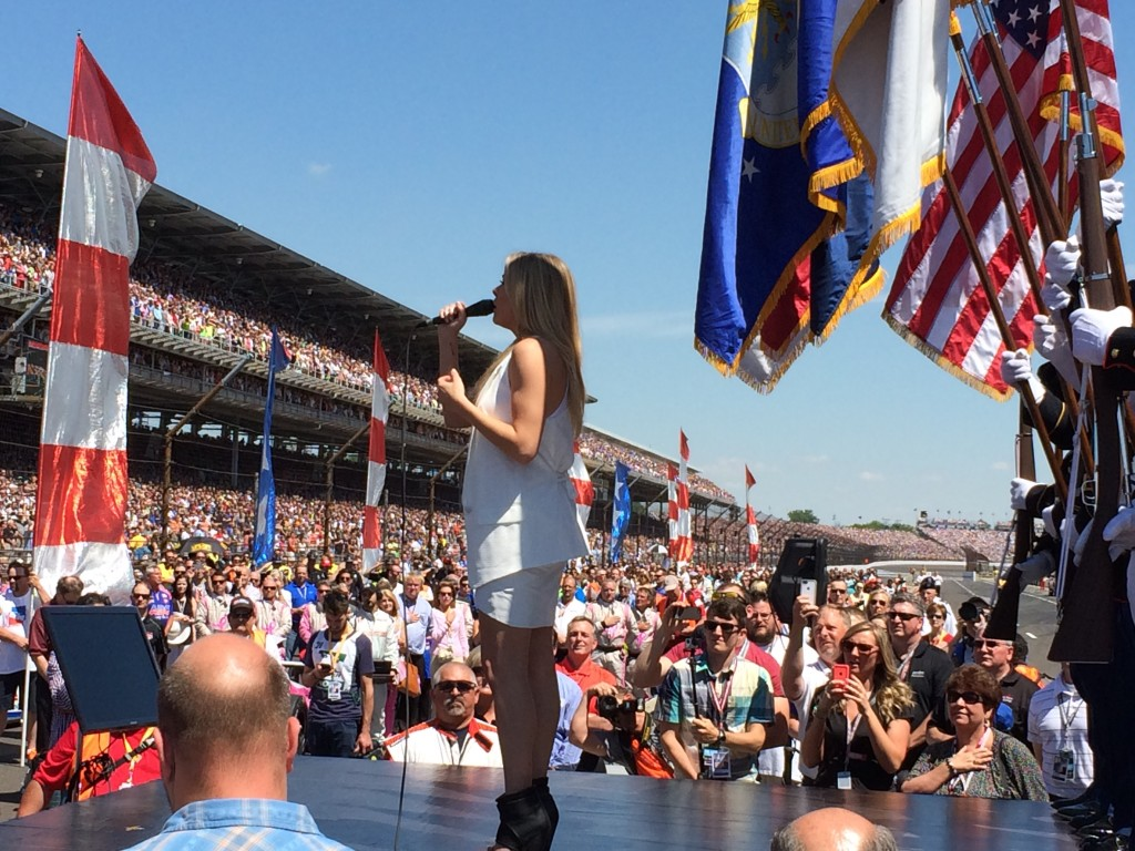 Leann Rimes, National Anthem, Indy 500