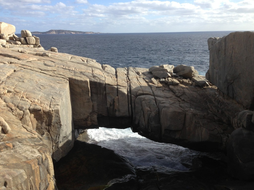 The Gap, Natural Bridge, Torndirrup National Park, Albany, Western Australia, Australia