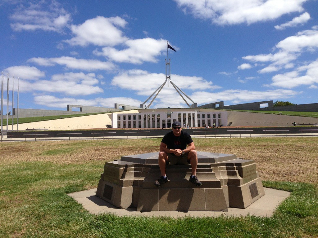 Lee Abbamonte, Parliament House, Canberra, Australia, ACT