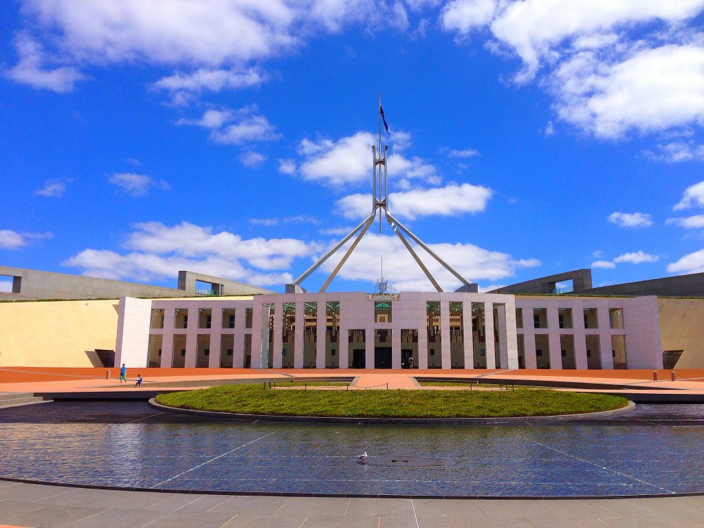 New Parliament House, Canberra, Australia, ACT