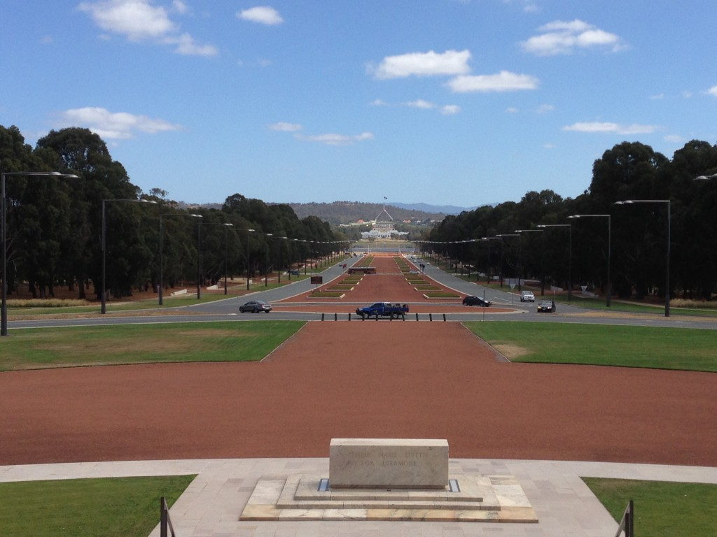 Parliamentary Axis, Canberra, Australia, ACT