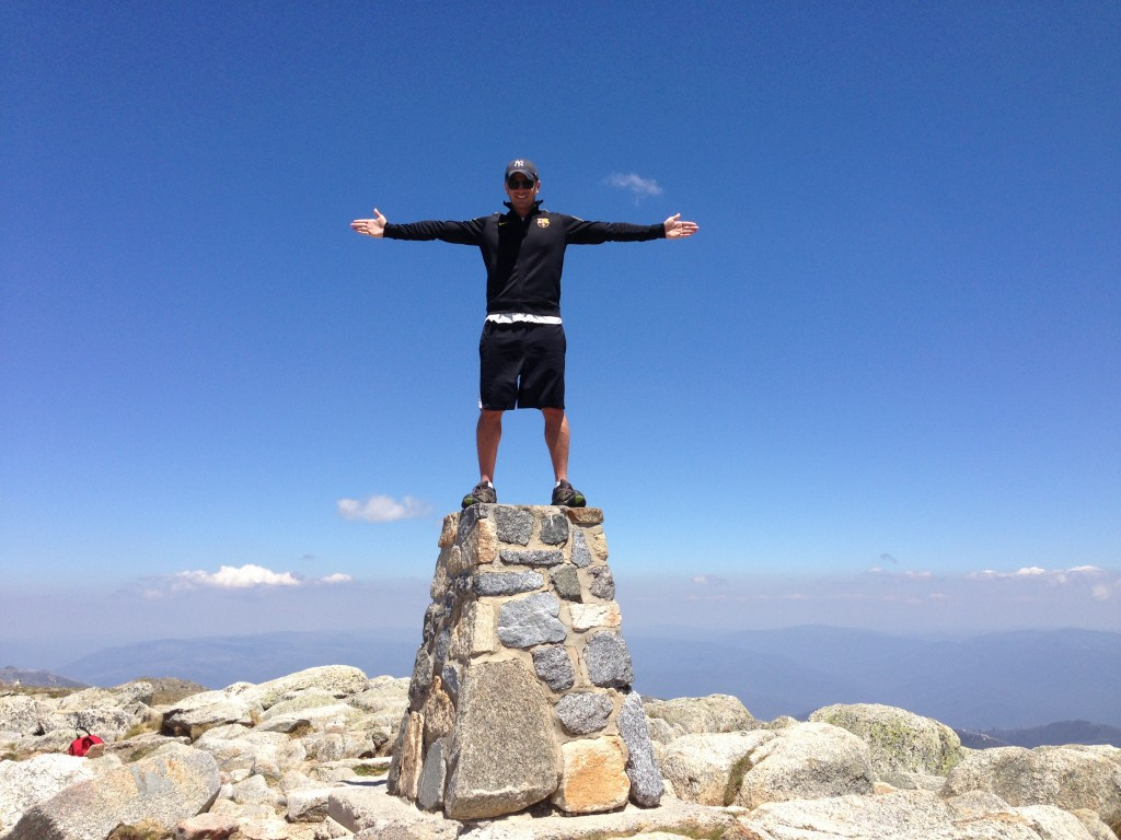 Lee Abbamonte, Summit of Mount Kosciuszko, Australia, Lee Abbamonte