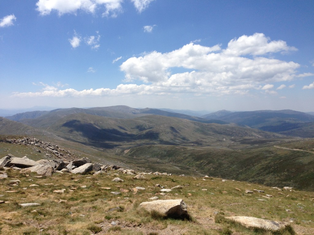 summit view, Mount Kosciuszko, Australia