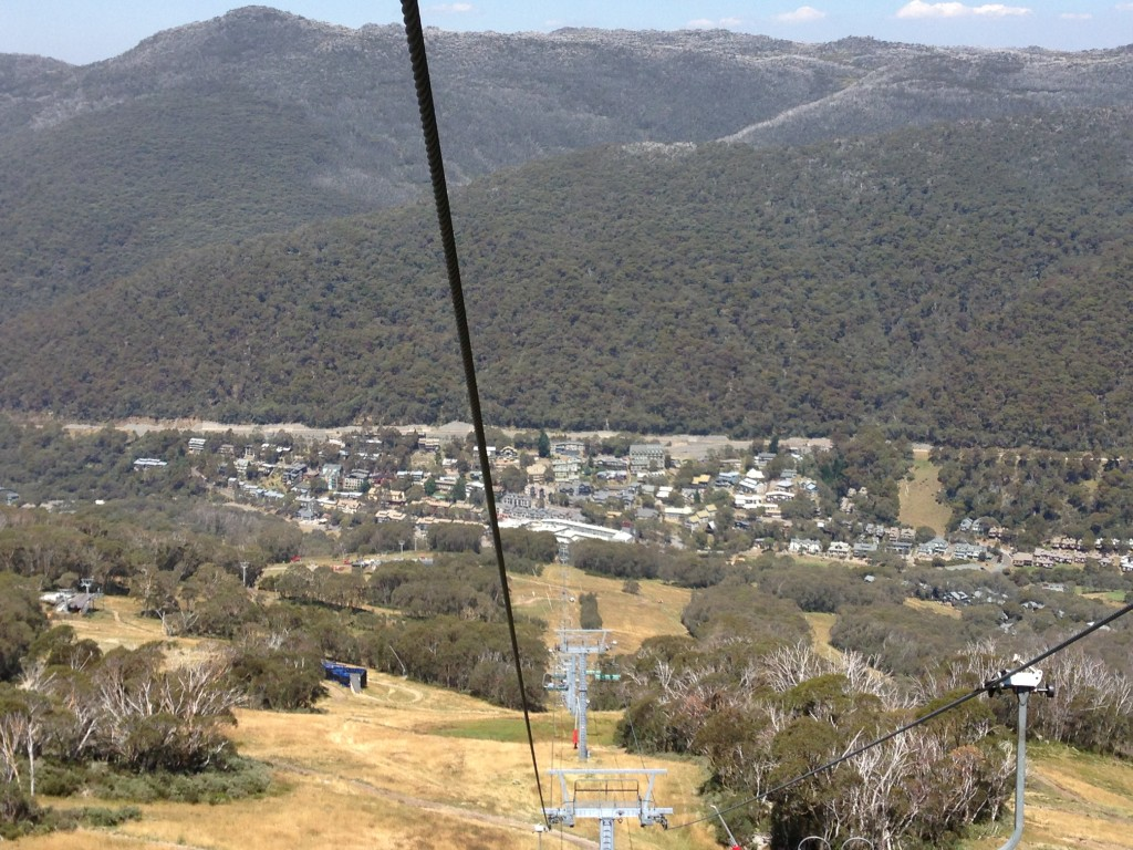 cable car view, Mount Kosciuszko, Australia