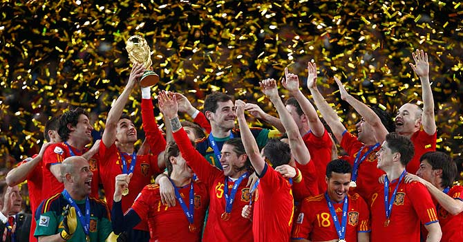 Spain, world cup