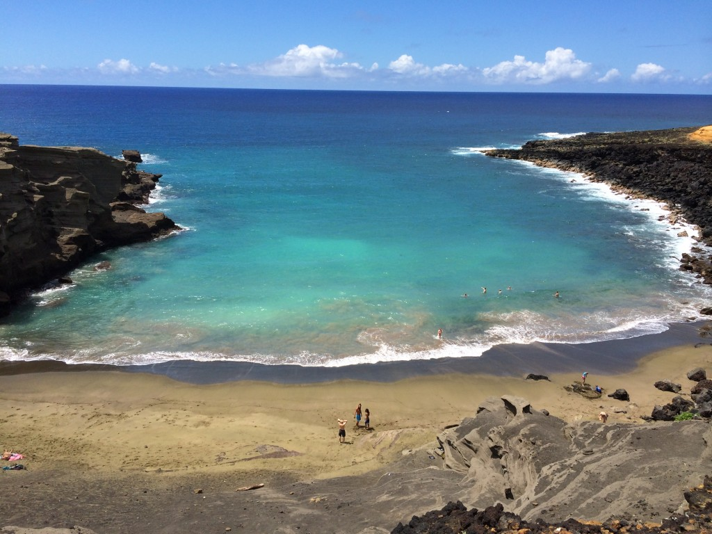 Green Sand Beach, Hawaii, Big Island