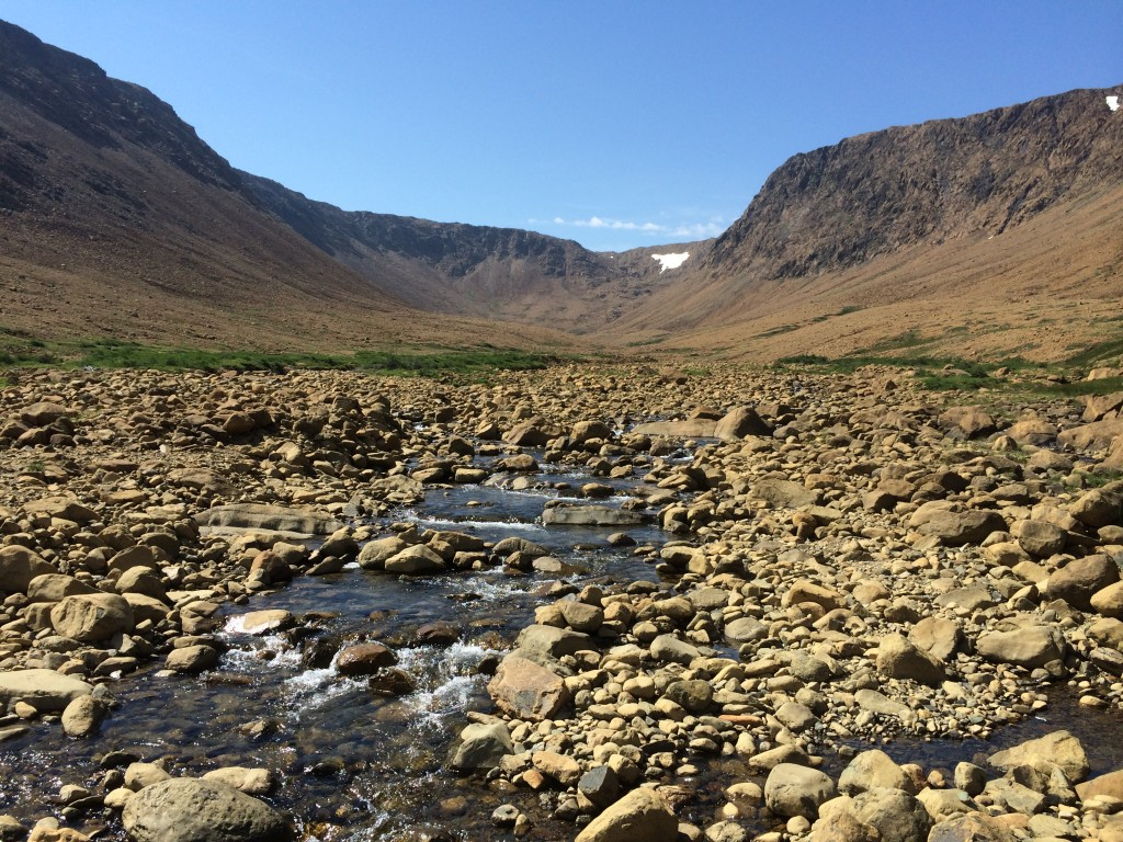 gros morne national park, western newfoundland, Canada, Tablelands
