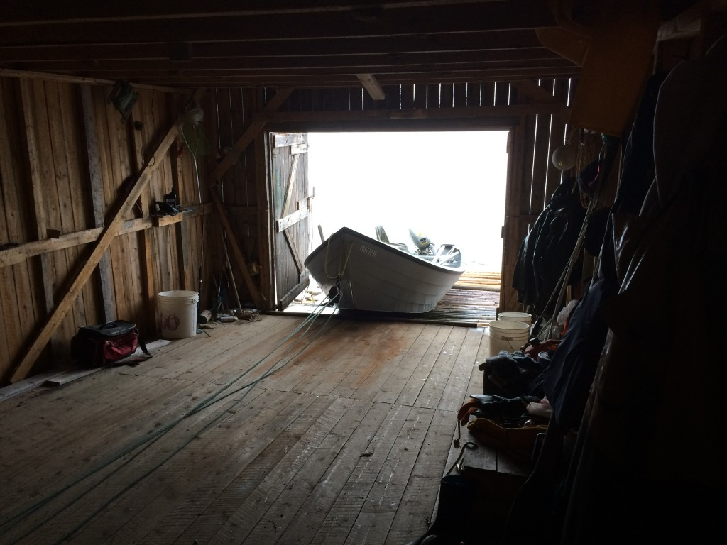 boathouse, dory fishing, western newfoundland, Canada