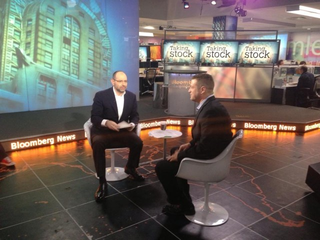 My Bloomberg TV Segment