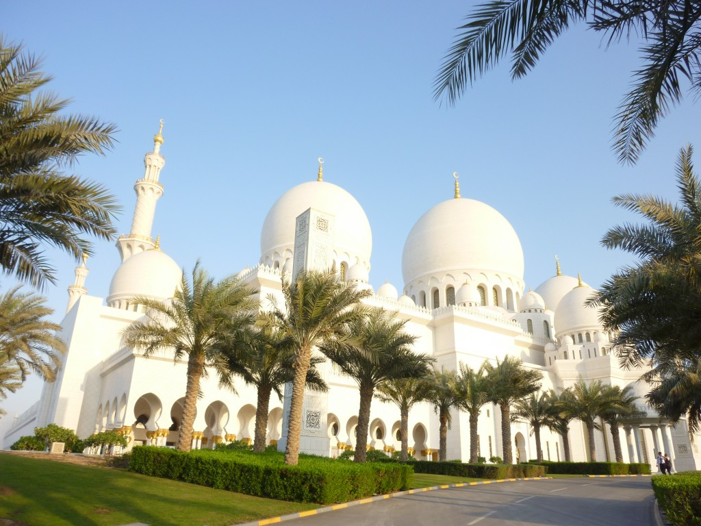 Abu Dhabi, Grand Mosque, UAE