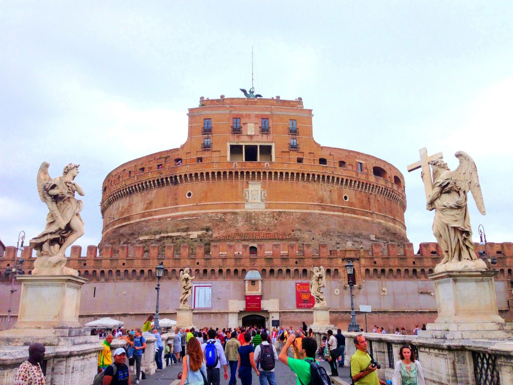 castel d'angelo, rome, italy