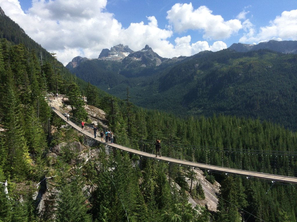 sea to sky gondola walkway, squamish