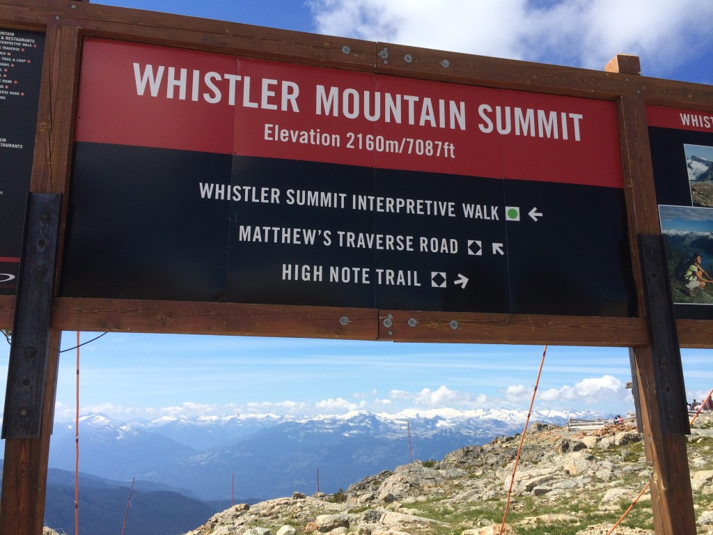 Whistler Mountain Summit