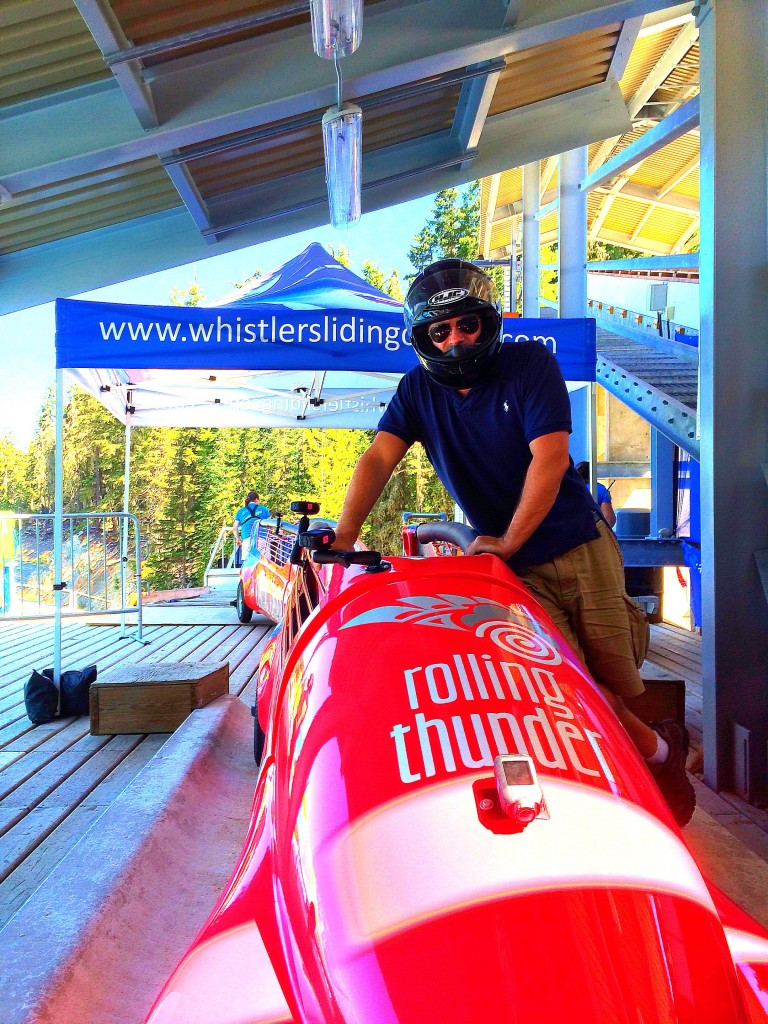 Lee Abbamonte Bobsled, Whistler