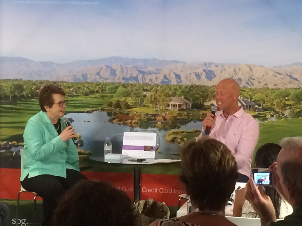 Murphy Jensen, Billie Jean King, SPG
