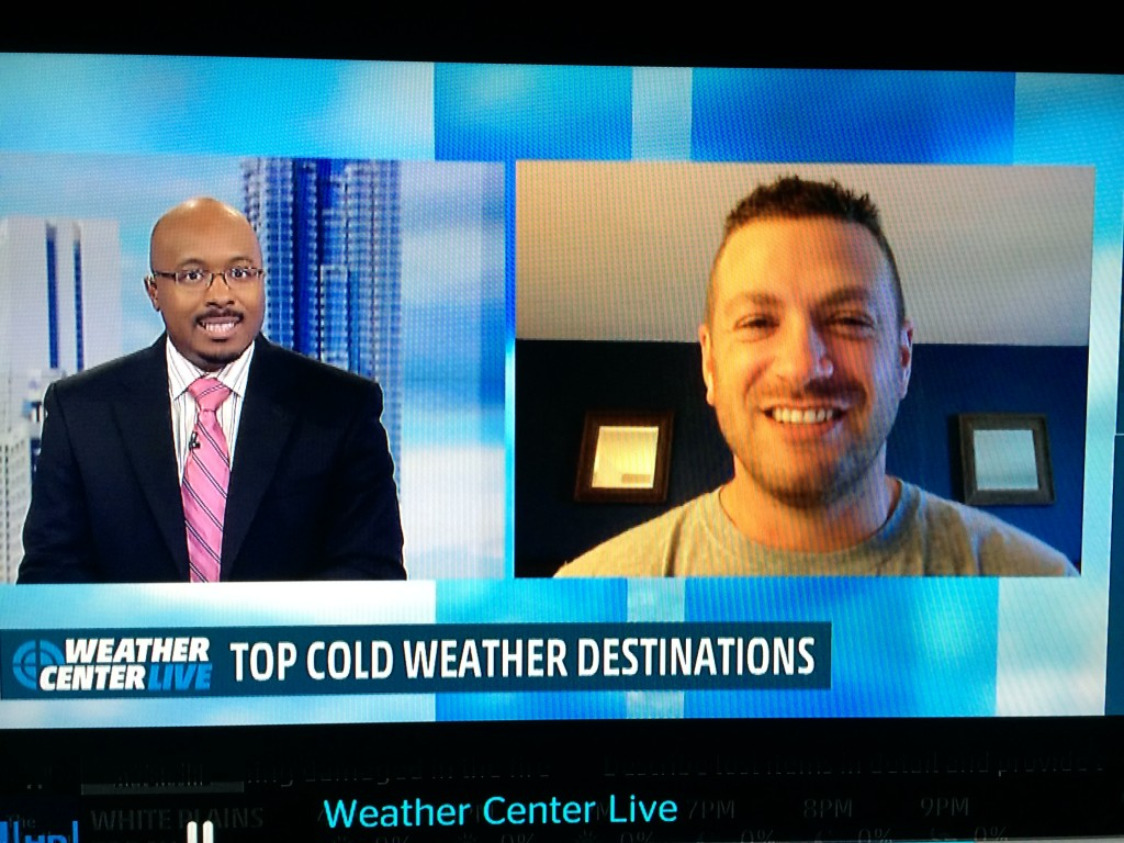 Lee Abbamonte, Alex Wallace, Weather Channel, TV