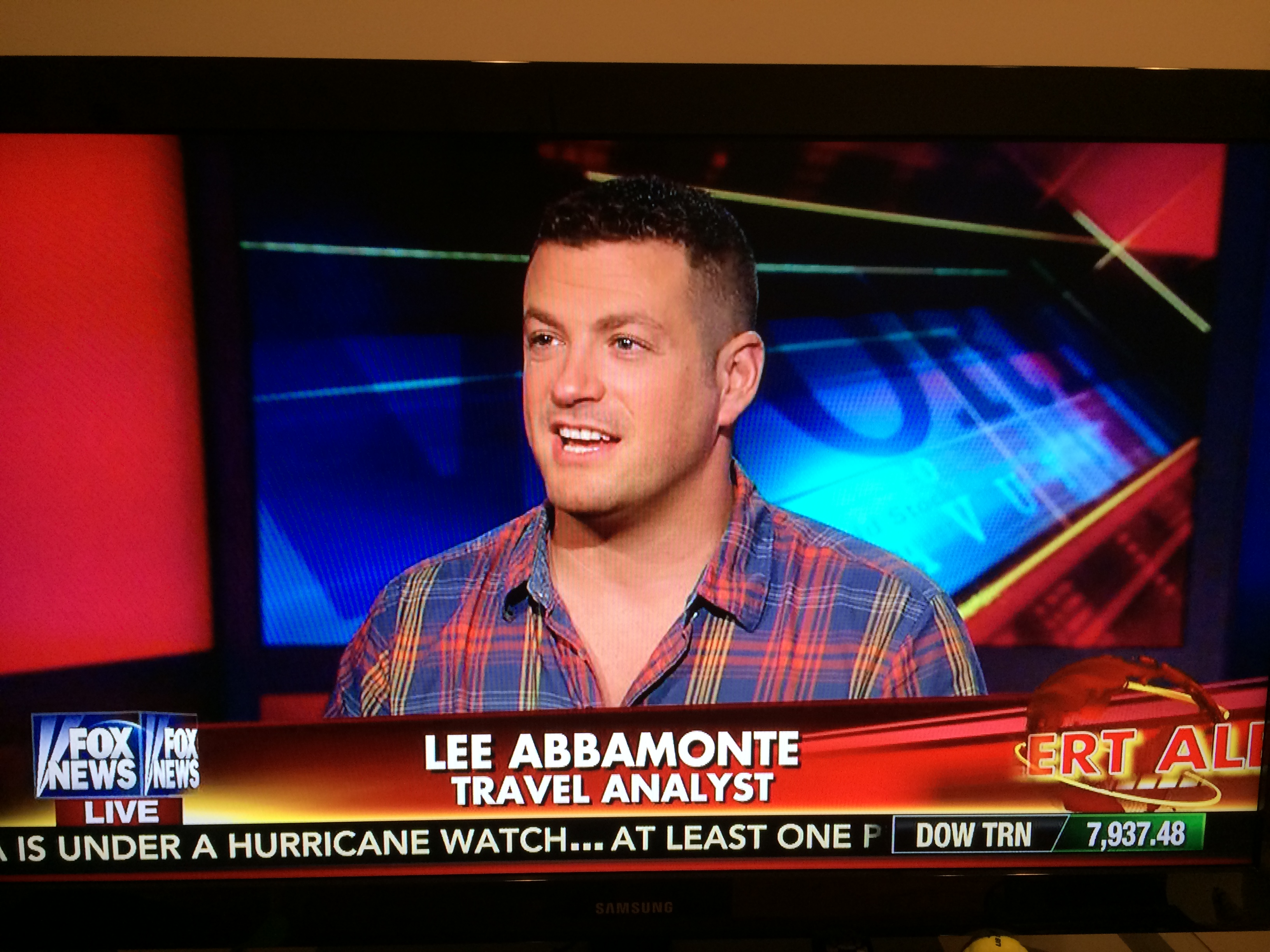 My Latest Cavuto Segment Talking Ebola and Travel