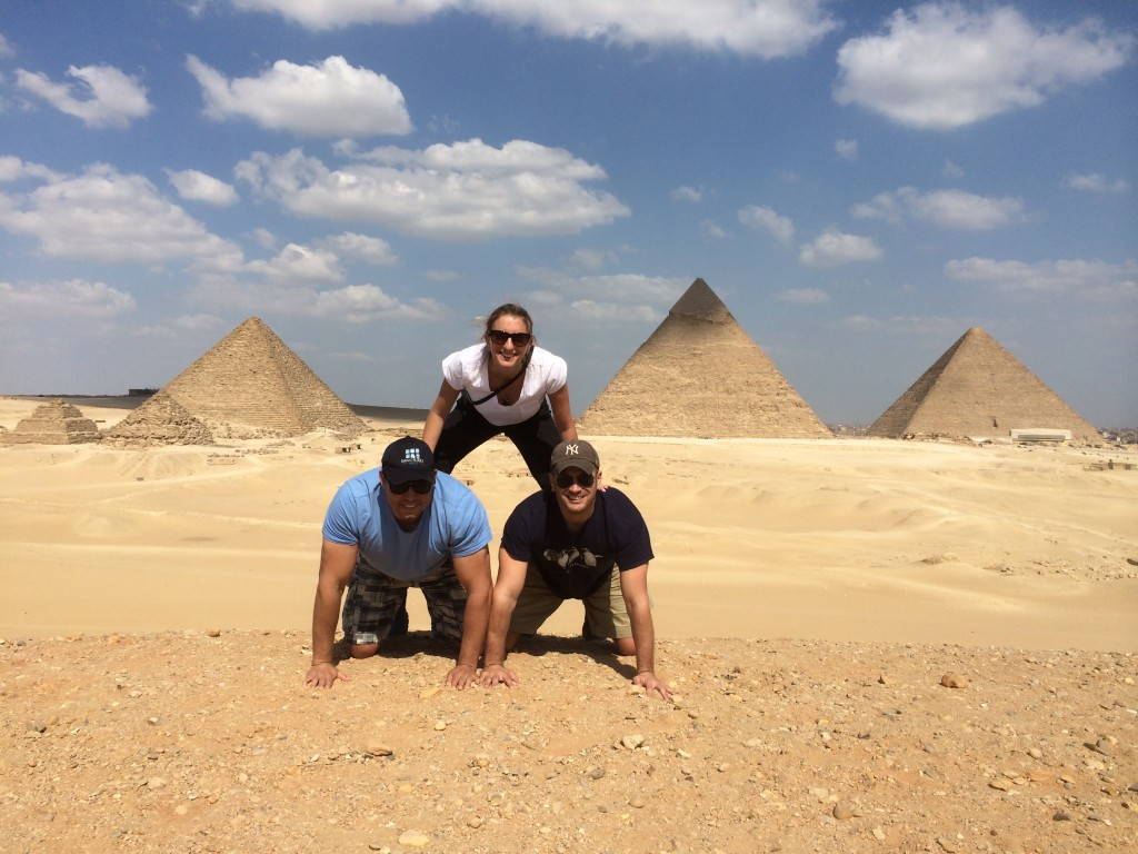 Pyramid at the pyramids