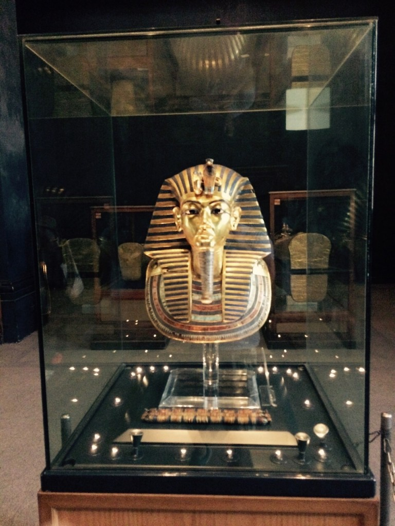 Egyptian Museum of Antiquities, King Tut mask, Cairo, Egypt