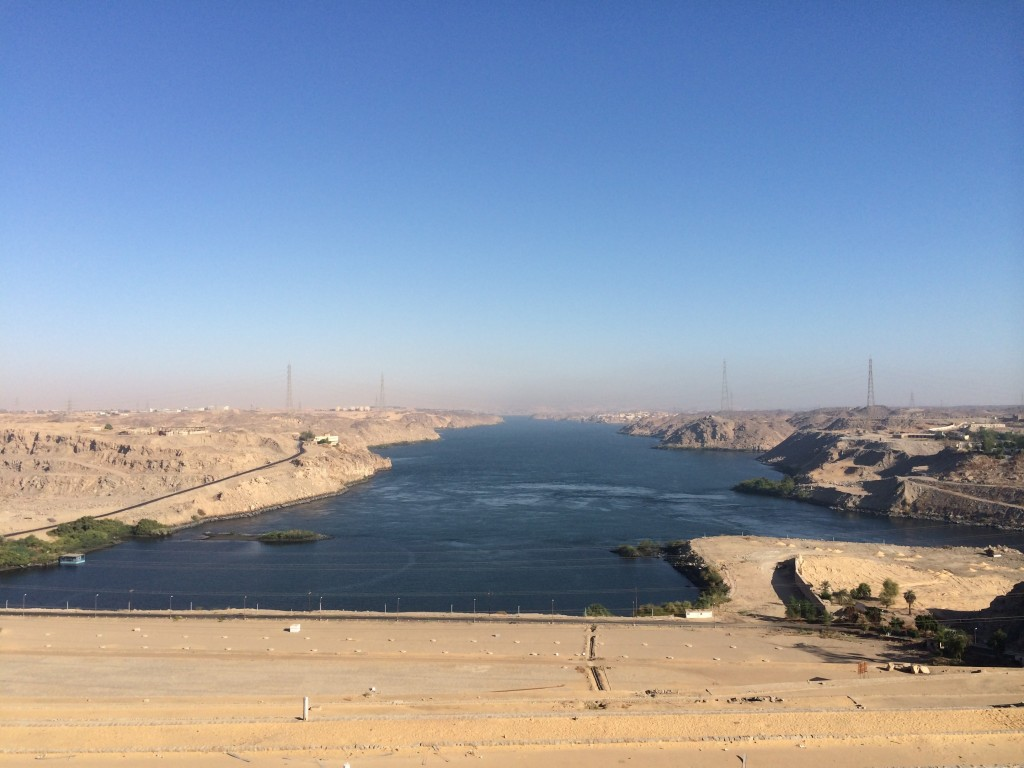 Lake Nasser, High Dam, Aswan, Egypt
