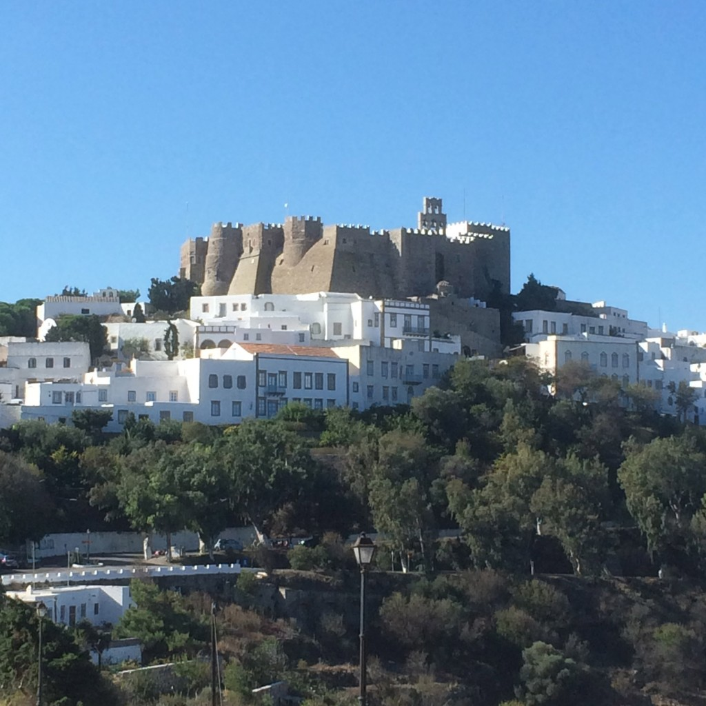 Patmos, fort, Greece