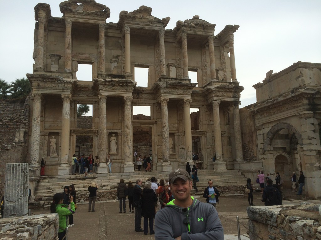 Lee Abbamonte, Library of Celsus, Ephesus, Turkey