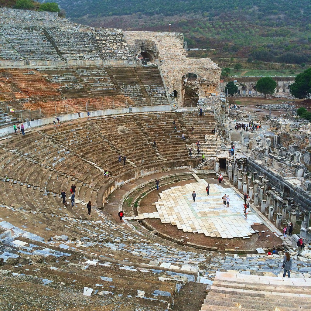 Amphitheater, Ephesus, Turkey
