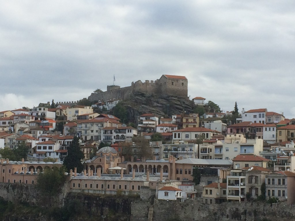 Kavala, Greece, castle