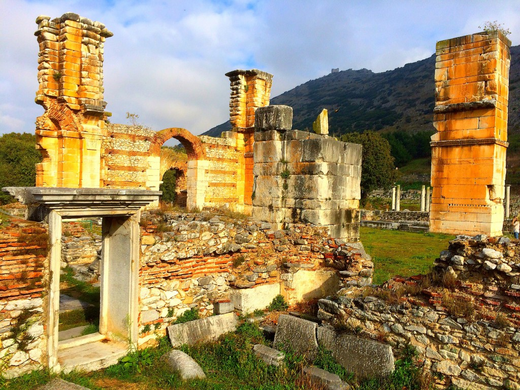 Philippi, Greece, ruins