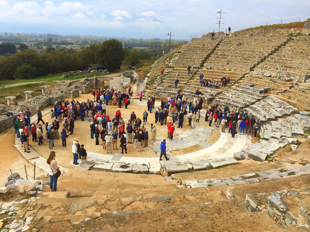 Philippi Amphitheater, Greece