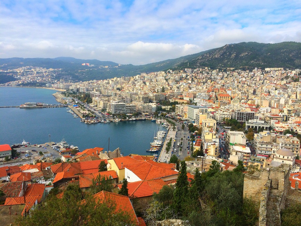 Kavala, Greece, view from castle