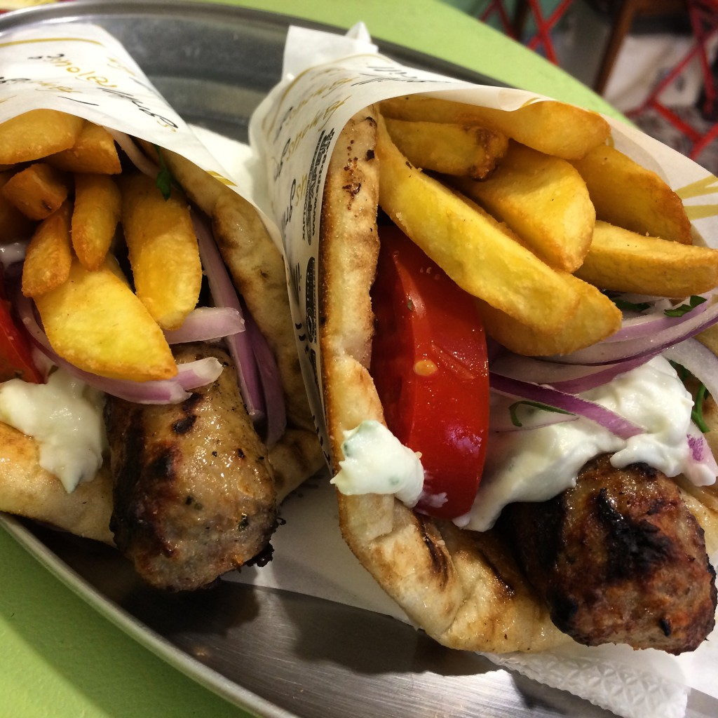 Gyros, Greece, Athens