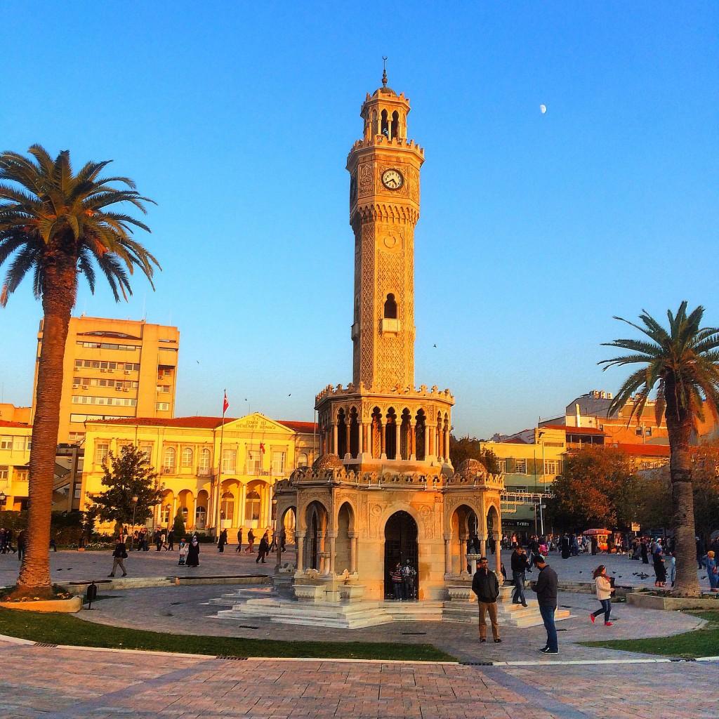 Clocktower Square, Izmir, Turkey