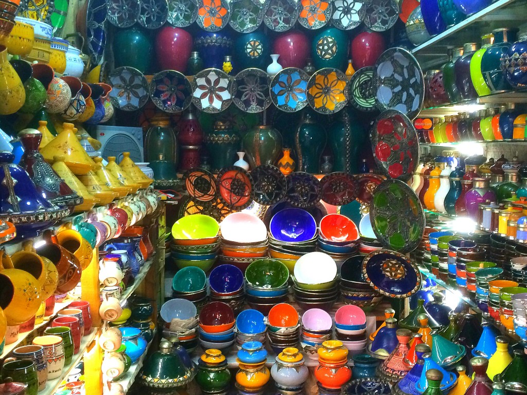 Marrakech, Morocco, souk, shop