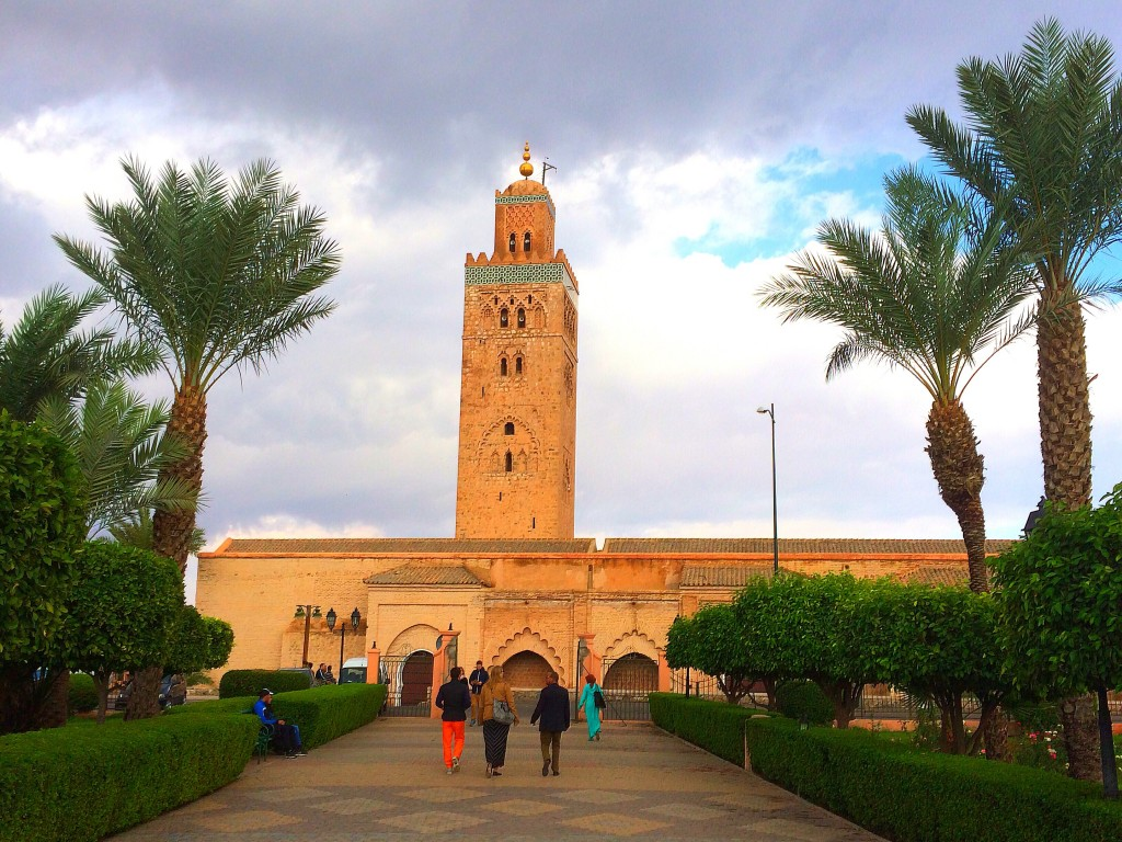 Mosque, Marrakech, old city