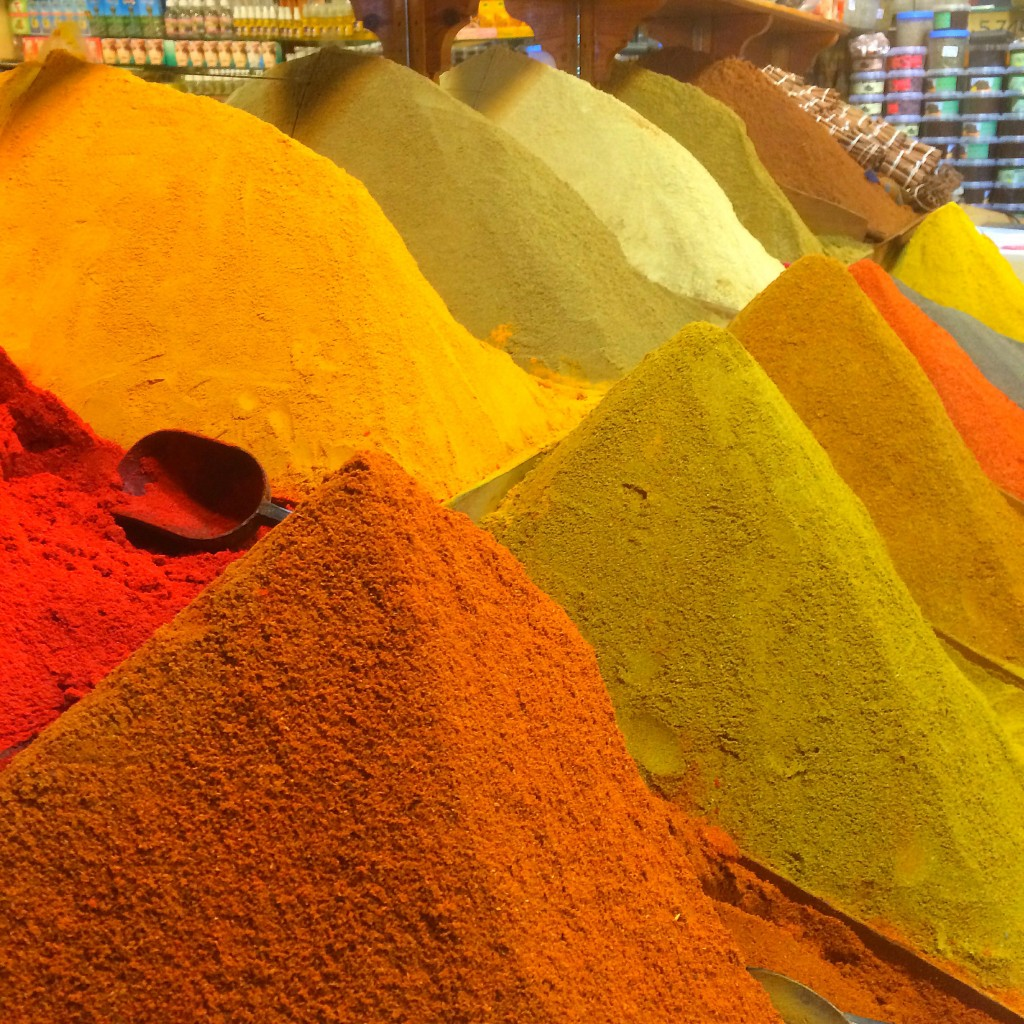 Spices, Marrakech, Morocco