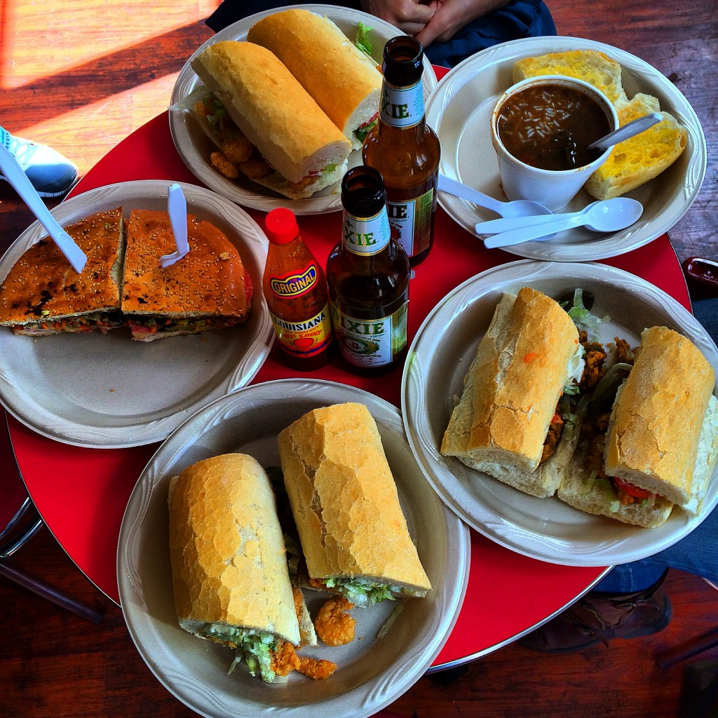 New Orleans, Louisiana, Johnny's, Po Boys