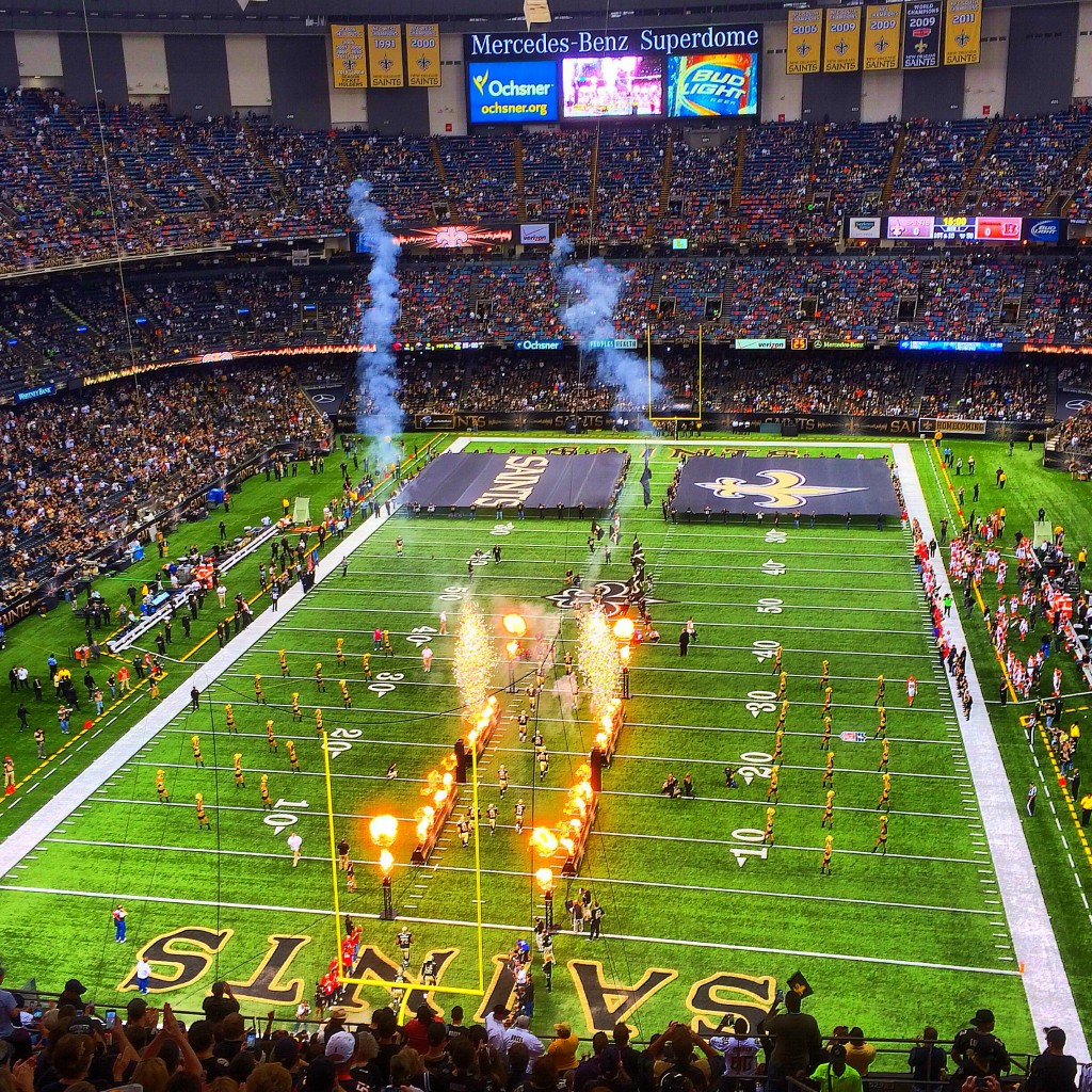 New Orleans, Louisiana, Superdome, Saints, Bengals
