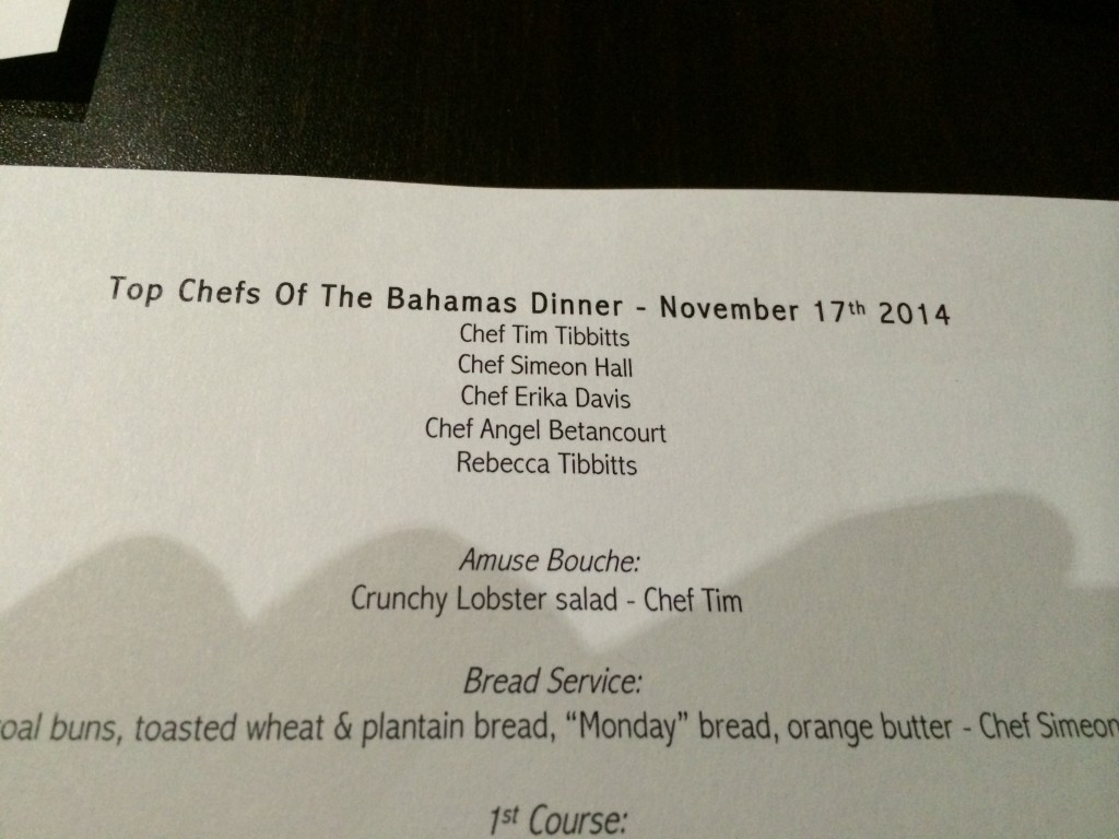 Flying Fish Restaurant, Pelican Bay Hotel, Top Chefs of the Bahamas
