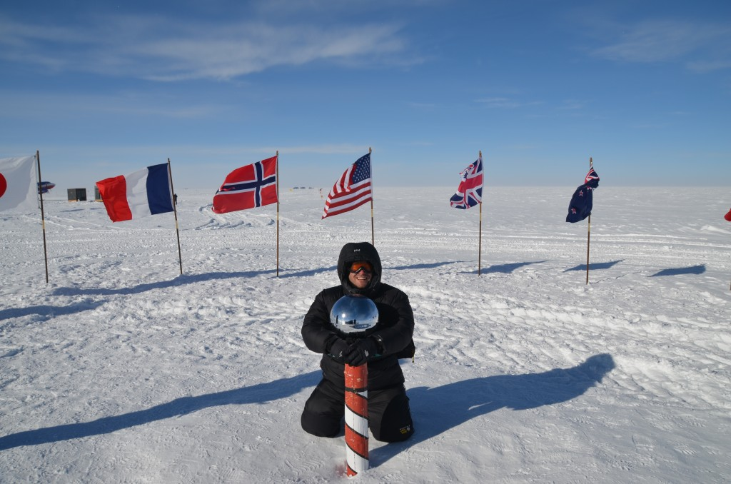 Lee Abbamonte, ceremonial South Pole, South Pole