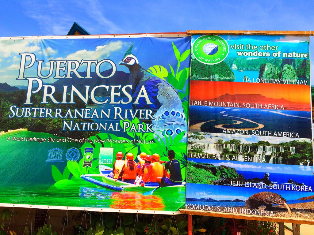 Puerto Princesa Subterranean River, Philippines, Sabang, new seven wonders of nature sign