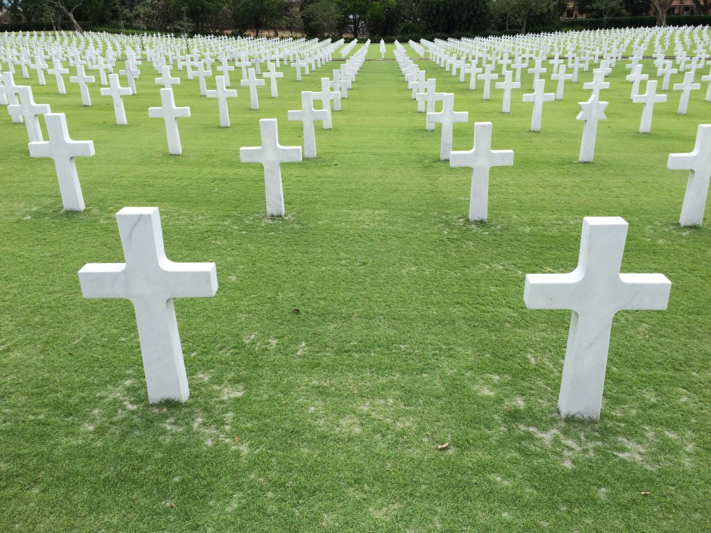 American War Cemetery, Manila, Philippines, WWII