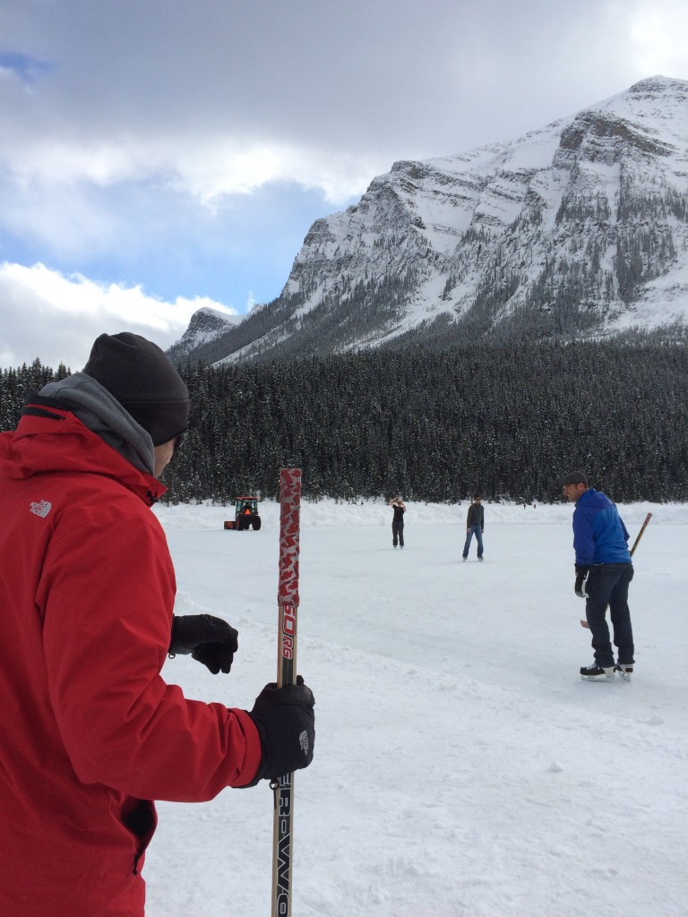 hockey, lake louise