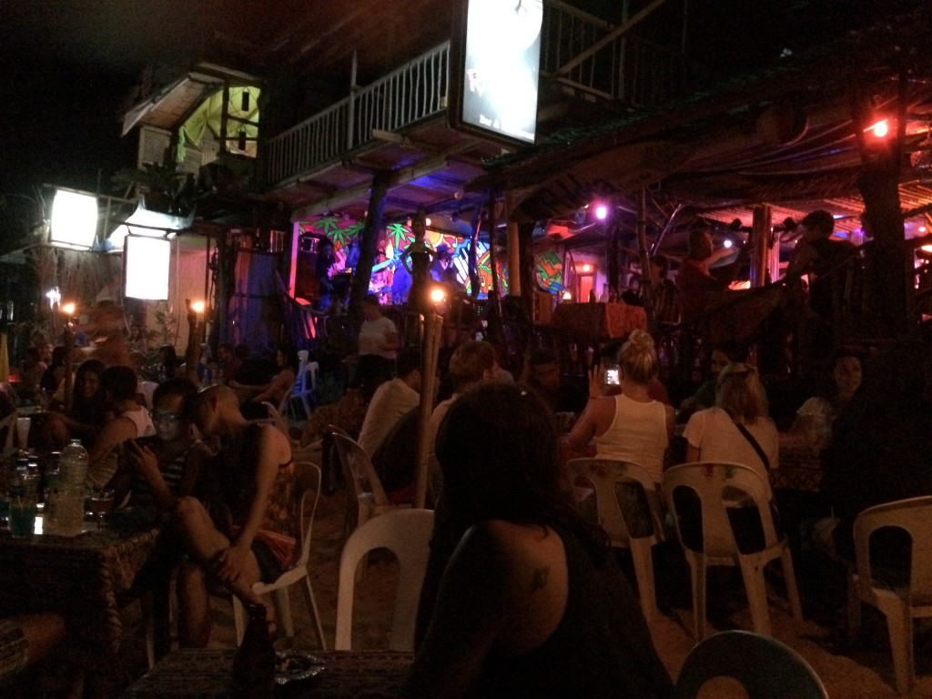 Pukka Bar, Reggae Bar, El Nido, Philippines, beach