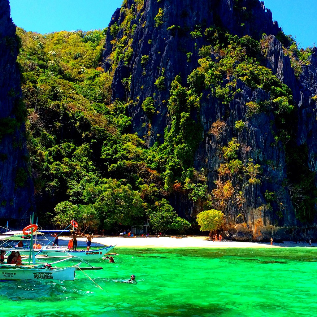 El Nido, Philippines, emerald water, tour A