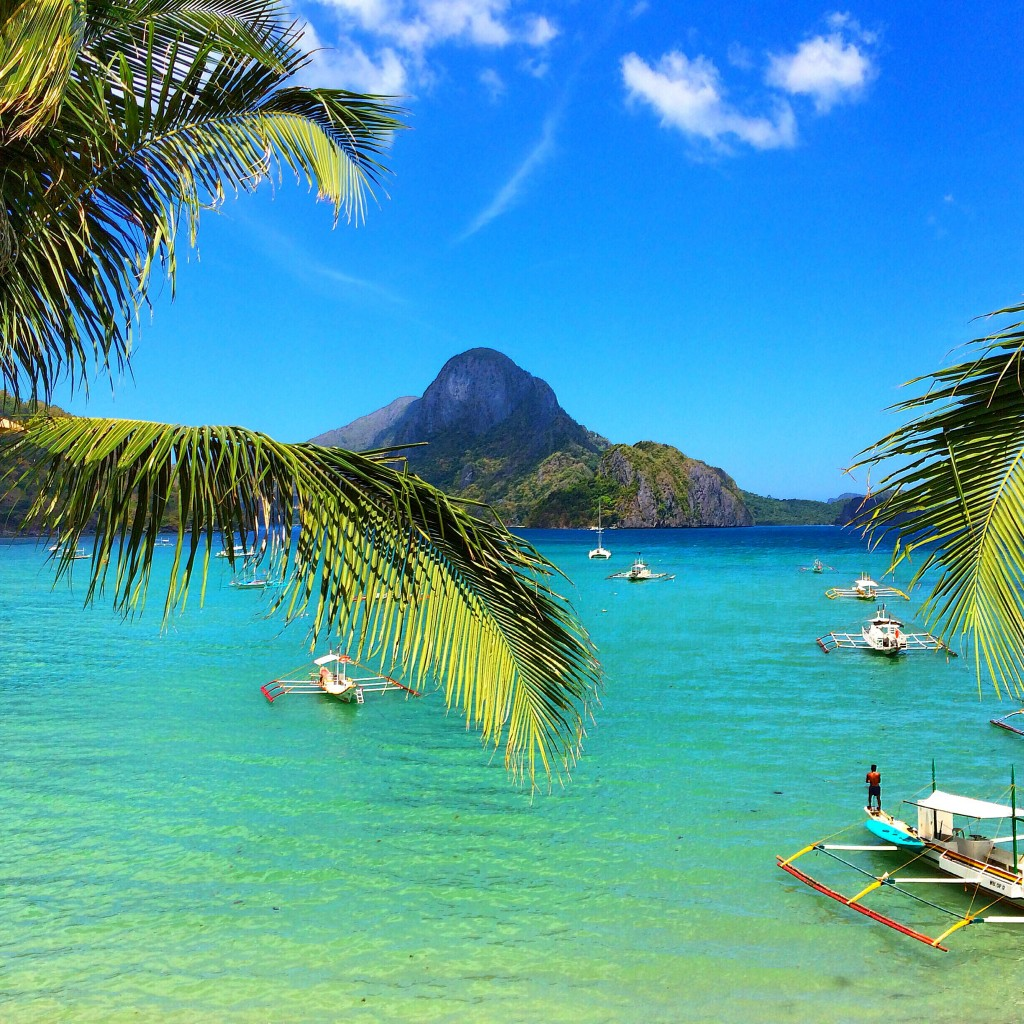 El Nido, Philippines, Periking Hotel, view