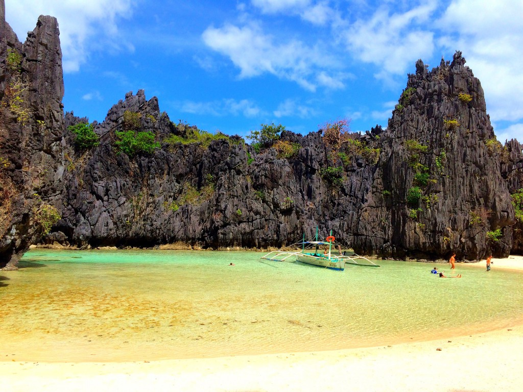 Hidden Beach, Tour C, El Nido, Philippines