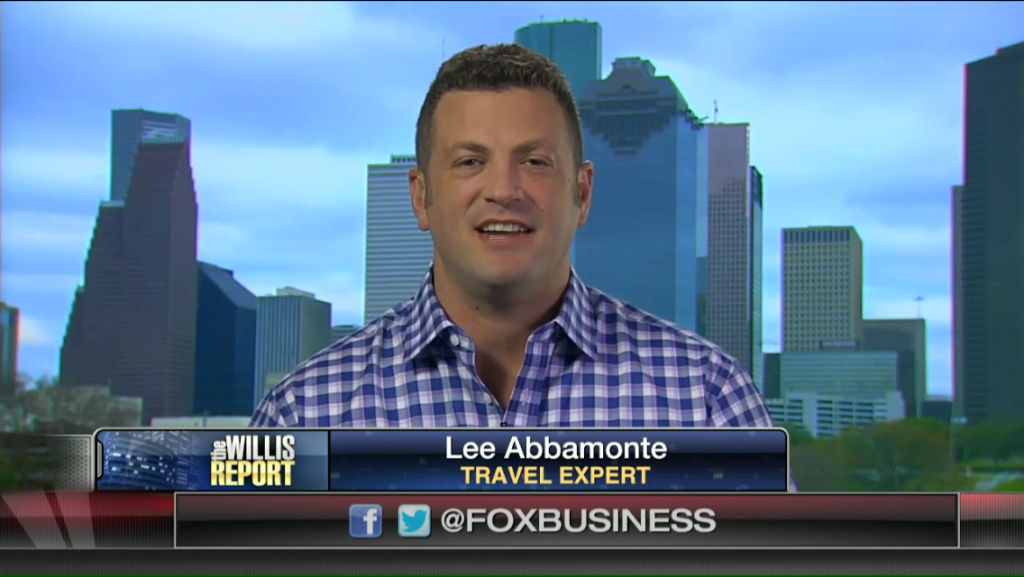 Lee Abbamonte, The Willis Report, Travel Expert