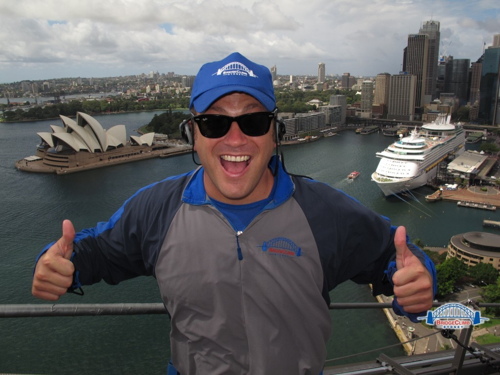Lee Abbamonte, Sydney Harbour Bridge, Australia